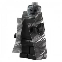 Trench Coat Urban Camo Grey