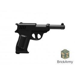 Lego Custom Minifig BRICK ARMY Walther P38 Pistol (La Petite Brique)