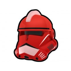 Lego Custom Minifig Arealight Casque Red Commander Fox (La Petite Brique) Star Wars