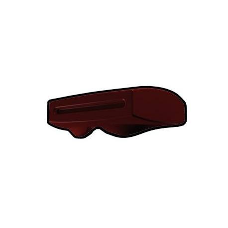 Dark Red Phase II Binocular Visor