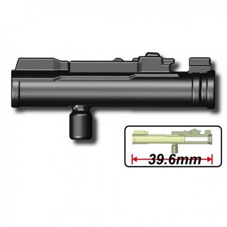 Lego Custom Minifig SI-DAN M72A Launcher (noir) (La Petite Brique)