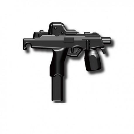 Lego Custom Minifig SI-DAN MP9 (noir) (La Petite Brique)