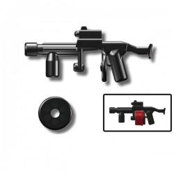Lego Custom Minifig SI-DAN Shotgun SGL10 (noir) (La Petite Brique)