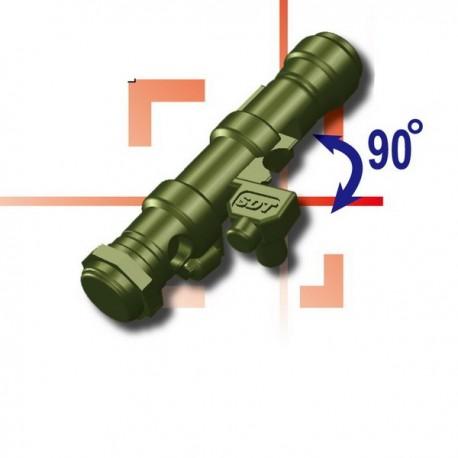 Lego Custom Minifig SI-DAN Lanzacohetes (AT-X) (Tank Green) (La Petite Brique)