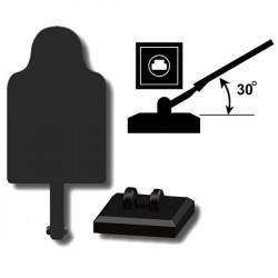 Lego Custom Minifig SI-DAN Cible / Target (noir) (La Petite Brique)