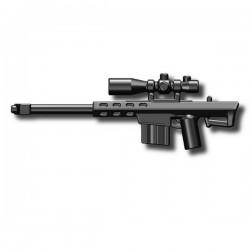Lego Custom Minifig SI-DAN Sniper rifle M82A (noir) (La Petite Brique)
