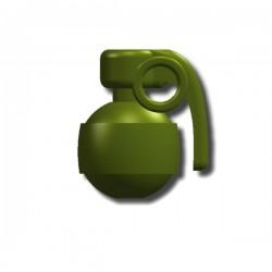 "Lego Custom Minifig SI-DAN P98 Grenade (Vert ""Tank"") (La Petite Brique)"