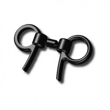 Plastic Handcuffs (D6) (black)