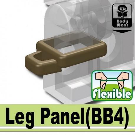 Lego Custom Minifig SI-DAN Leg Panel (beige foncé) (La Petite Brique)