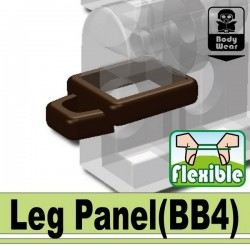 Lego Custom Minifig SI-DAN Leg Panel (marron) (La Petite Brique)