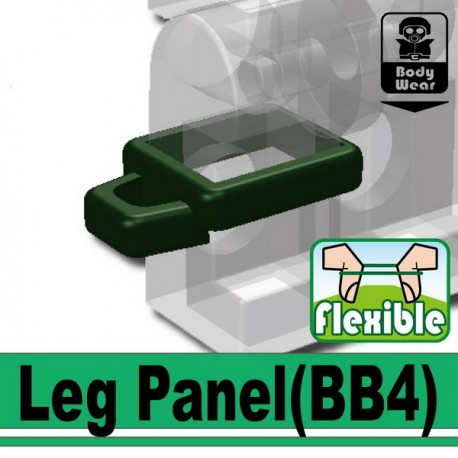 Lego Custom Minifig SI-DAN Leg Panel (vert foncé) (La Petite Brique)