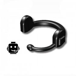 Lego Custom Minifig SI-DAN Headset-JS1 (noir) (La Petite Brique)