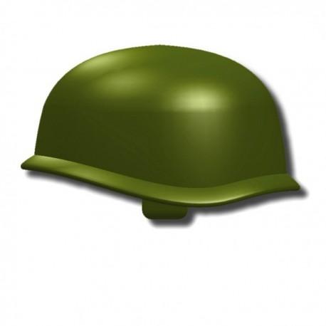 "Lego Custom Minifig SI-DAN Casque US M-1 Army (Vert ""Tank"") (La Petite Brique)"
