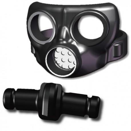 Gas mask and canister v2 (black)