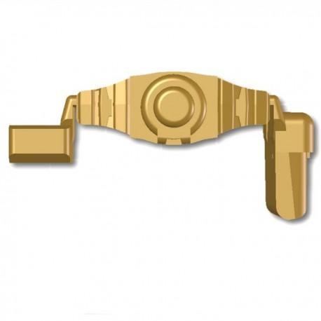 Lego Custom Minifig SI-DAN Ceinture Tactical USF-M2a (beige foncé) (La Petite Brique)