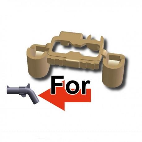 Lego Custom Minifig SI-DAN Ceinture G6 Tactical (beige foncé) (La Petite Brique)