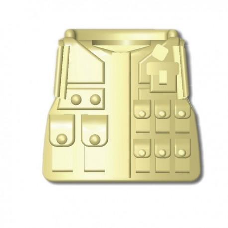 Lego Custom Minifig SI-DAN Tactical Vest M08 (beige) (La Petite Brique)