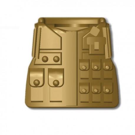 Lego Custom Minifig SI-DAN Tactical Vest M08 (beige foncé) (La Petite Brique)