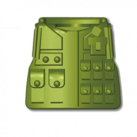"""Lego Custom Minifig SI-DAN Tactical Vest M08 (vert """"Tank"""") (La Petite Brique)"""