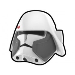 Lego Custom Minifig Arealight Casque White Bacara Commander (La Petite Brique) Star Wars