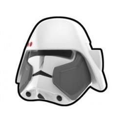 White Bacara Commander Helmet