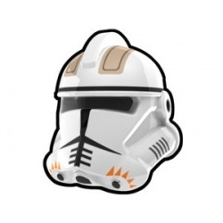 Lego Custom Minifig Arealight Casque White Commander Cody (La Petite Brique) Star Wars