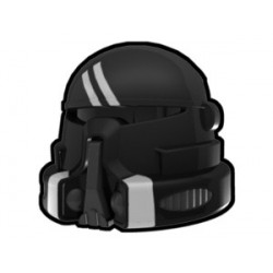 Lego Minifig Custom AREALIGHT Black Airborne Shadow Helmet (La Petite Brique) Star Wars