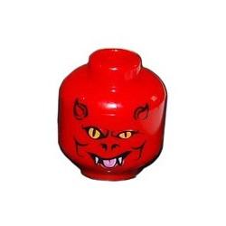 Tête : Rouge, Diable