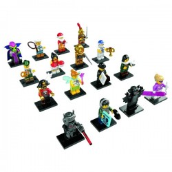 LEGO Series 8 - 16 minifigures - 8833