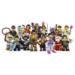 LEGO Serie 8 - 16 minifigures - 8833 (La Petite Brique, le spécialiste de la minfig)