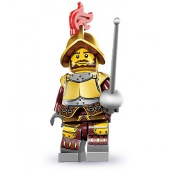LEGO Minifigures Serie 8 - le conquistador - 8833 (La Petite Brique, le spécialiste de la minfig)