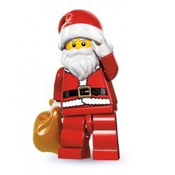 LEGO Minifigures Serie 8 - le père noël - 8833 (La Petite Brique, le spécialiste de la minfig)