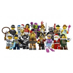 LEGO Series 8 - box of 60 minifigures - 8833