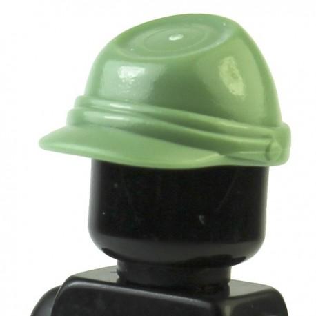 LEGO Minifig Accessoires Casquette Militaire - Kepi (Sand green) (La Petite Brique)
