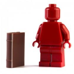 LEGO Minifig Accessoires Livre (Marron rougeâtre) (La Petite Brique)
