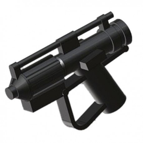 LEGO Custom Star Wars Armes CLONE ARMY CUSTOMS E-5 Droid Blaster (noir) (La Petite Brique)