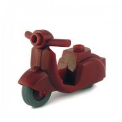 Lego Custom Minifig BRICKFORGE Scooter (rouge foncé) (La Petite Brique)