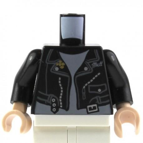 LEGO Minifig Accessoires Torse Perfecto noir, mains chair (La Petite Brique)