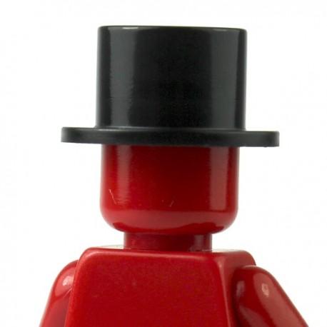 LEGO Minifig Accessoires Chapeau, Haut de forme (noir) (La Petite Brique)