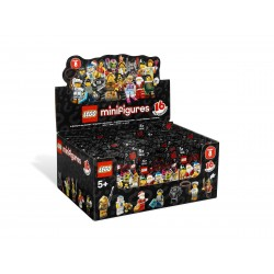 Lego MINIFIG 8833 - Boite complète de 60 sachets - Série 8 (La Petite Brique)