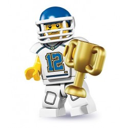 LEGO Serie 8 - la footballer US - 8833 (La Petite Brique)