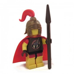 Lego Minifig Custom Accessoires BRICKFORGE Casque Centurion (bronze) (La Petite Brique)