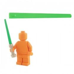 Lego Minifig Custom Armes Star Wars BRICKFORGE Laser Beam (vert transparent) (La Petite Brique)