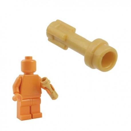 Lego Minifig Custom Armes Star Wars BRICKFORGE Manche de Sabre Laser (Evil - Doré) (La Petite Brique)