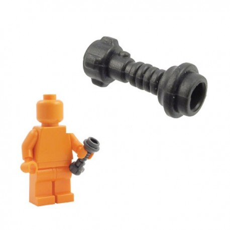 Lego Minifig Custom Armes Star Wars BRICKFORGE Manche de Sabre Laser (Space Knight - Carbon) (La Petite Brique)