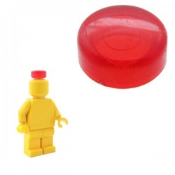 Lego Minifig Custom BRICKFORGE Optique de Scooter (rouge transparent) (La Petite Brique)