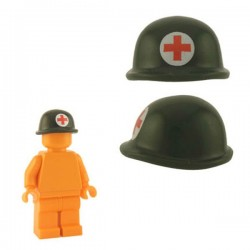Soldier Helmet - Army Green (Medic)