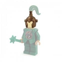 Lego Minifig Custom Accessoires BRICKFORGE Casque d'Elfe (Bronze) (La Petite Brique)