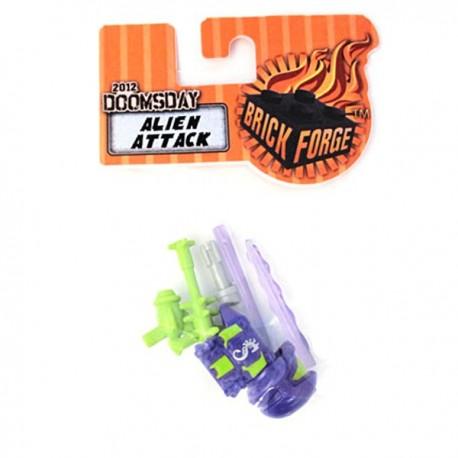 Lego Minifig Custom Accessoires BRICKFORGE Doomsday Alien Attack Pack (La Petite Brique)