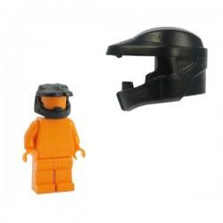 Lego Minifig Custom Accessoires BRICKFORGE Casque Powered Assault (noir) (La Petite Brique)